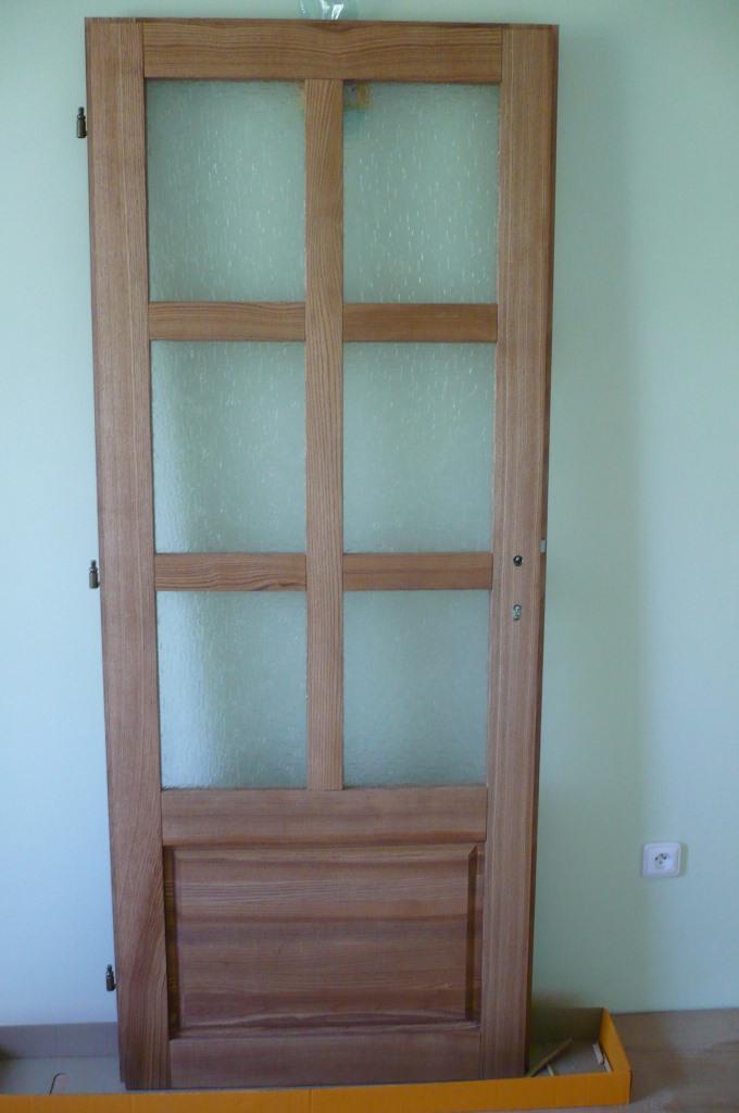 Interiérové dveře průhledné