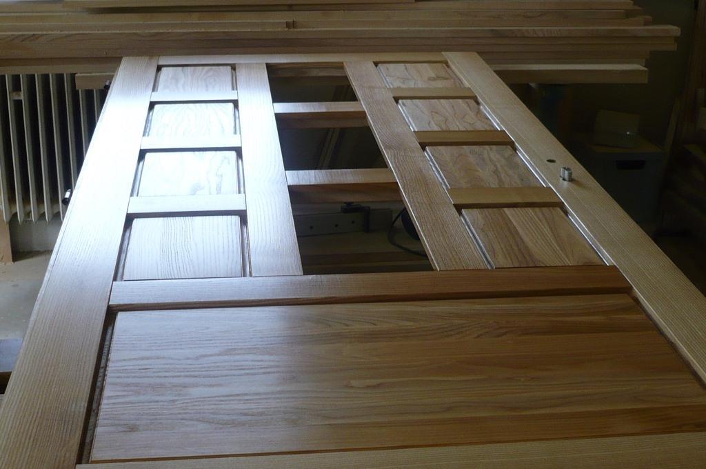 Interiérové dveře ve výrobě