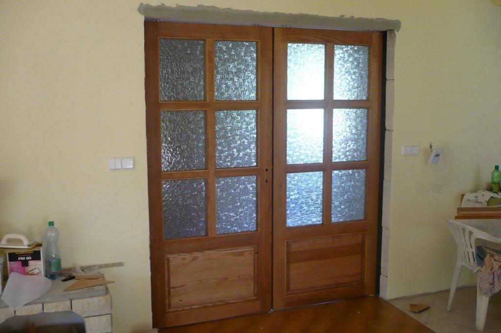 Posuvné dveře z masívu