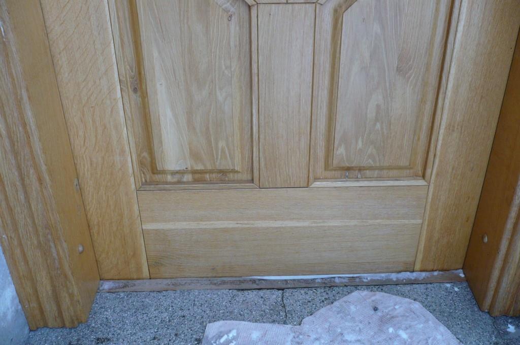 Vstupní dveře Východní Čechy detail 3
